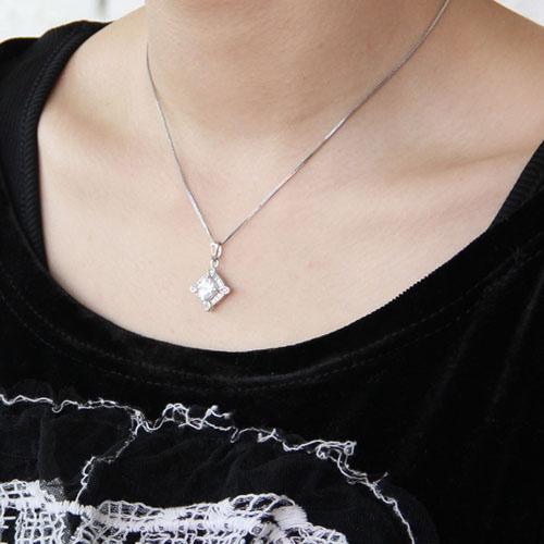 pendentif femme argent zirconium 8300385 pic5