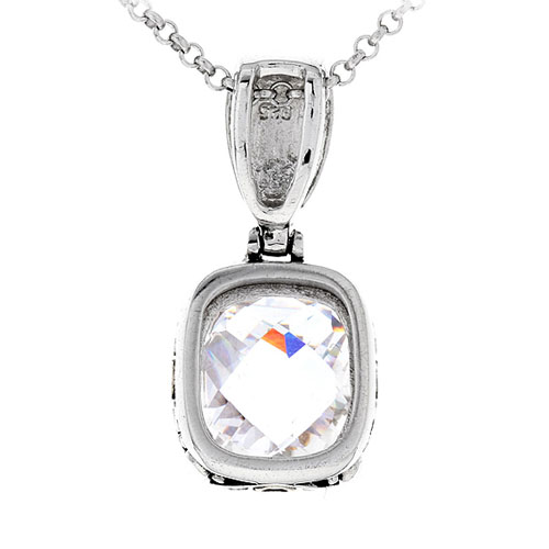 pendentif femme argent zirconium 8300414 pic3