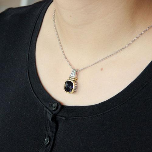 pendentif femme argent zirconium 8300418 pic5