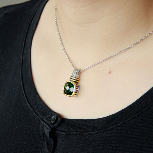 pendentif femme argent zirconium 8300419 pic5