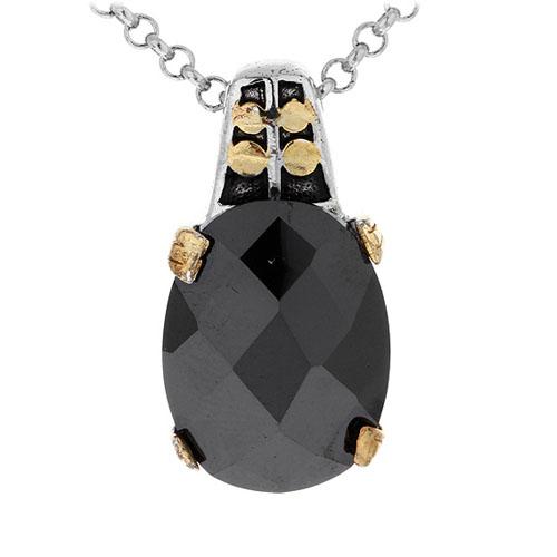 pendentif femme argent zirconium 8300420