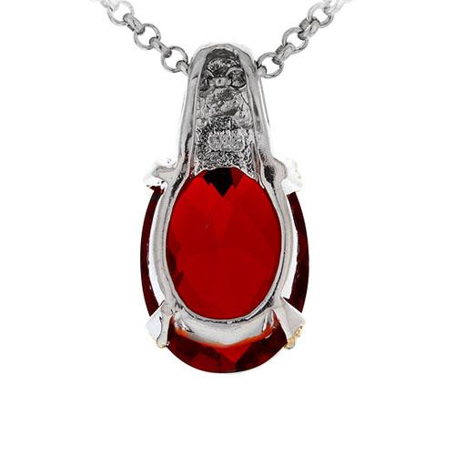 pendentif femme argent zirconium 8300421 pic3