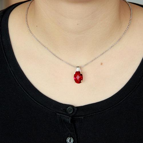 pendentif femme argent zirconium 8300421 pic4