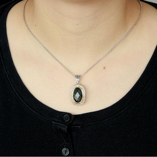 pendentif femme argent zirconium 8300424 pic4