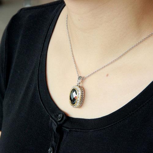 pendentif femme argent zirconium 8300424 pic5