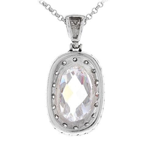 pendentif femme argent zirconium 8300425 pic3