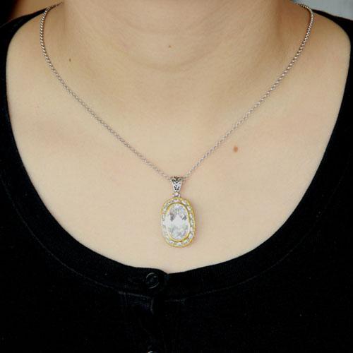 pendentif femme argent zirconium 8300425 pic4