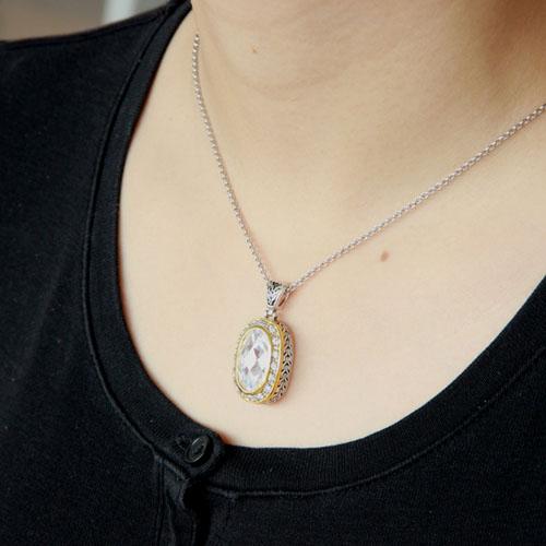 pendentif femme argent zirconium 8300425 pic5