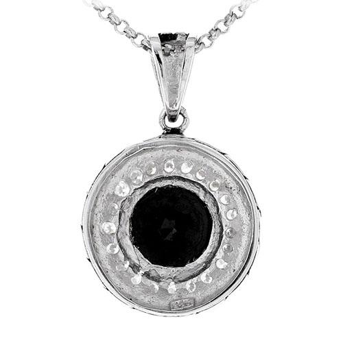 pendentif femme argent zirconium 8300426 pic3
