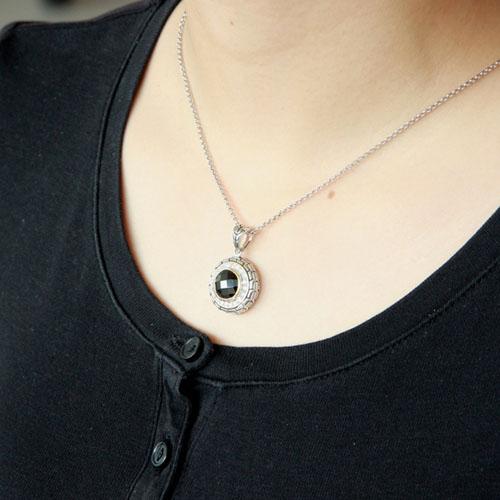 pendentif femme argent zirconium 8300426 pic5