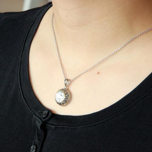 pendentif femme argent zirconium 8300427 pic5