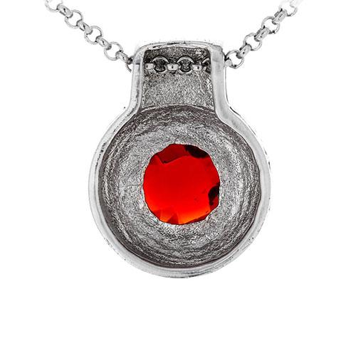 pendentif femme argent zirconium 8300428 pic3