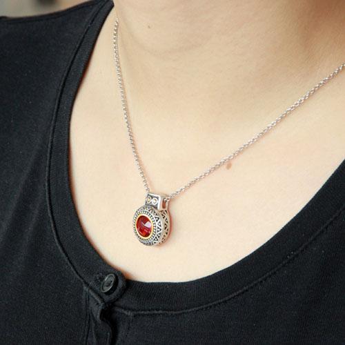 pendentif femme argent zirconium 8300428 pic5