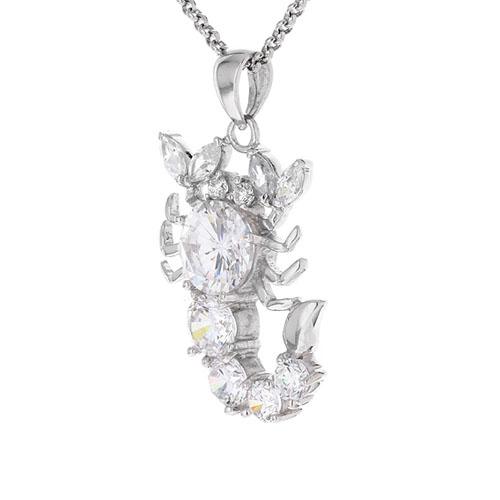 pendentif femme argent zirconium 8300429 pic2