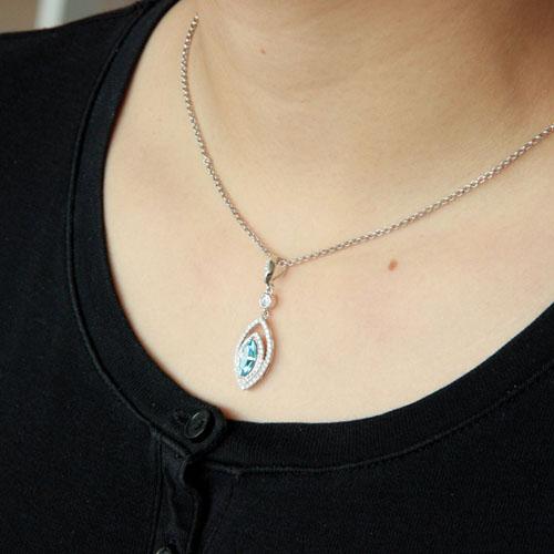 pendentif femme argent zirconium 8300430 pic5