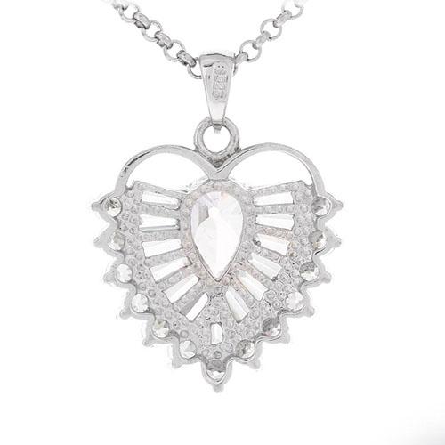 pendentif femme argent zirconium 8300431 pic3