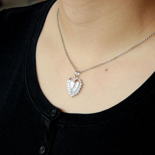 pendentif femme argent zirconium 8300431 pic5