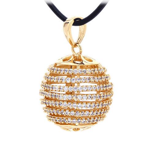 pendentif femme argent zirconium 8300435 pic2