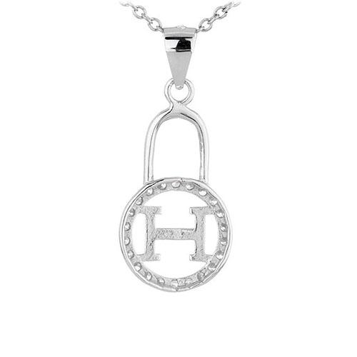 pendentif femme argent zirconium 8300437 pic3
