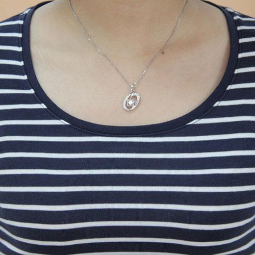 pendentif femme argent zirconium 8300441 pic4