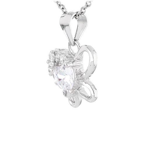 pendentif femme argent zirconium 8300442 pic2