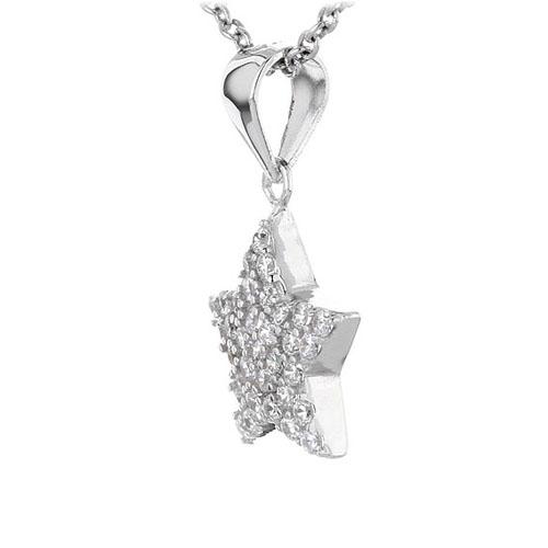 pendentif femme argent zirconium 8300443 pic2