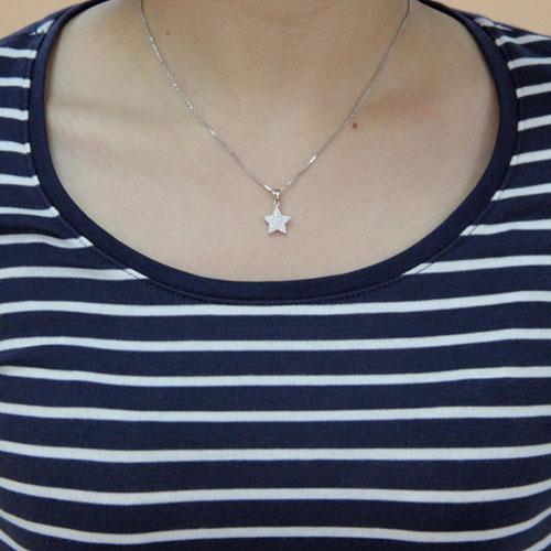 pendentif femme argent zirconium 8300443 pic4