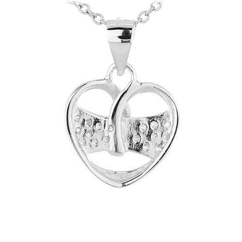 pendentif femme argent zirconium 8300445 pic3