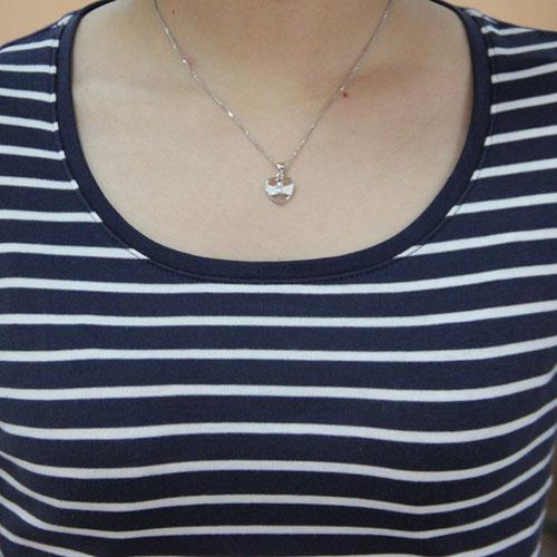 pendentif femme argent zirconium 8300445 pic4