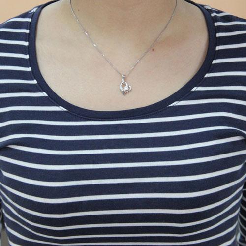 pendentif femme argent zirconium 8300447 pic4