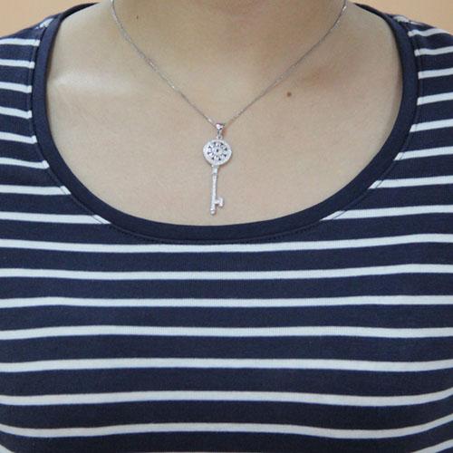 pendentif femme argent zirconium 8300455 pic4