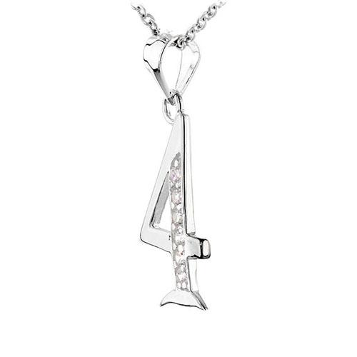 pendentif femme argent zirconium 8300470 pic2