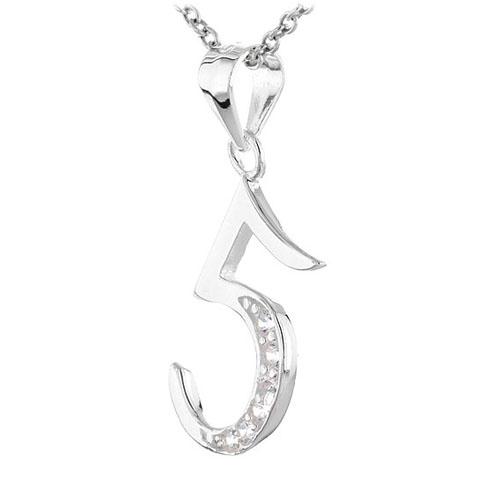 pendentif femme argent zirconium 8300471 pic2