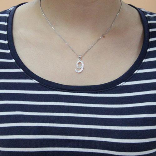 pendentif femme argent zirconium 8300475 pic4