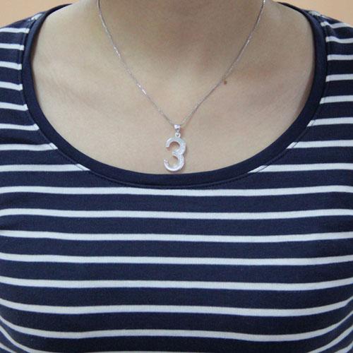 pendentif femme argent zirconium 8300479 pic4