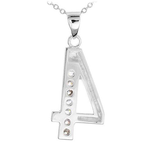pendentif femme argent zirconium 8300480 pic3