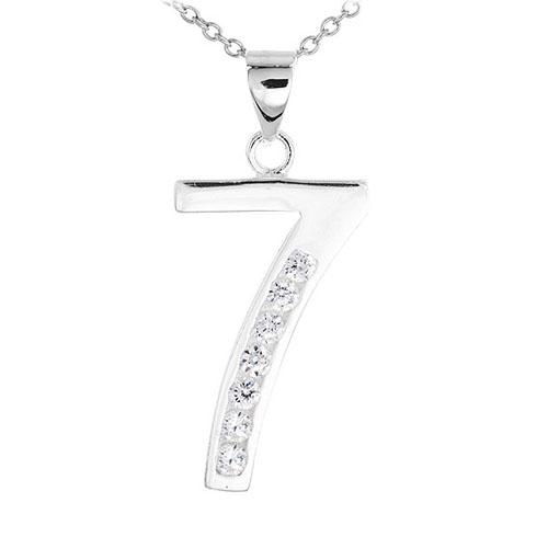 pendentif femme argent zirconium 8300483