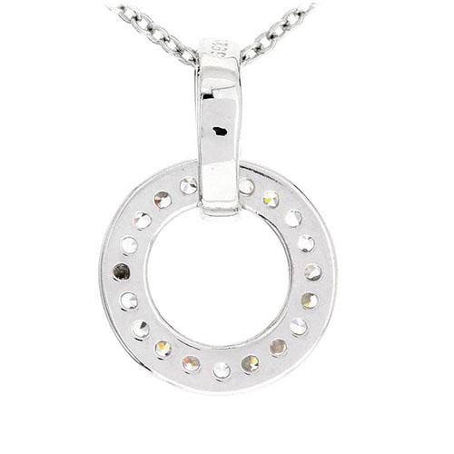 pendentif femme argent zirconium 8300489 pic3