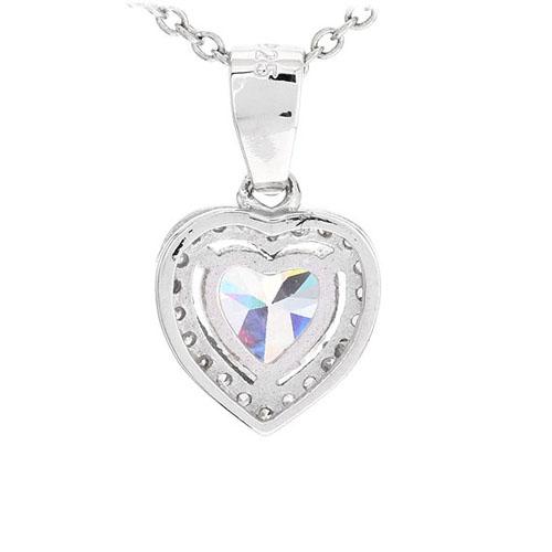 pendentif femme argent zirconium 8300490 pic3