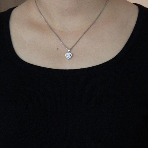 pendentif femme argent zirconium 8300490 pic4