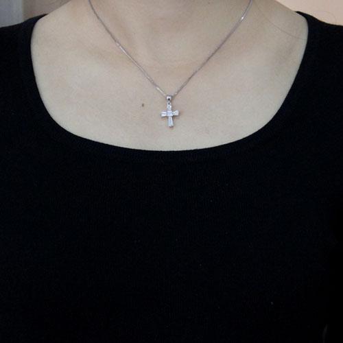 pendentif femme argent zirconium 8300494 pic4