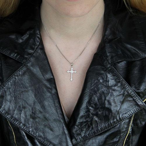 pendentif femme argent zirconium 8300504 pic4