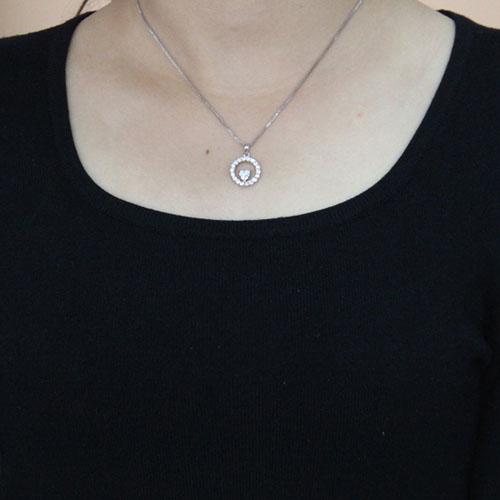 pendentif femme argent zirconium 8300506 pic4