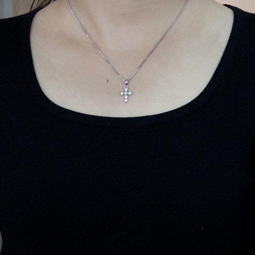 pendentif femme argent zirconium 8300507 pic4