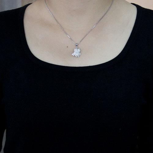pendentif femme argent zirconium 8300508 pic4