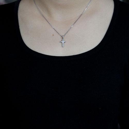 pendentif femme argent zirconium 8300512 pic4