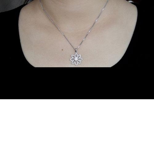 pendentif femme argent zirconium 8300518 pic4