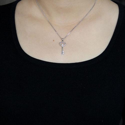 pendentif femme argent zirconium 8300520 pic4