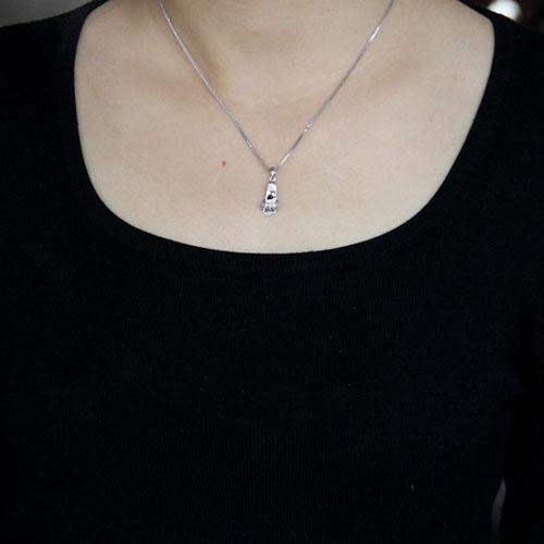 pendentif femme argent zirconium 8300521 pic4
