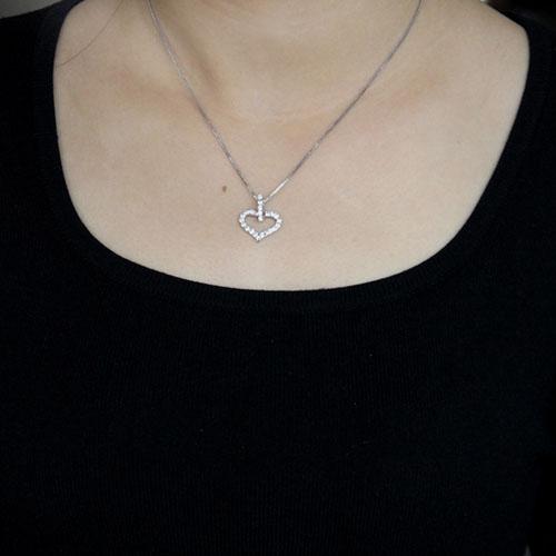 pendentif femme argent zirconium 8300522 pic4